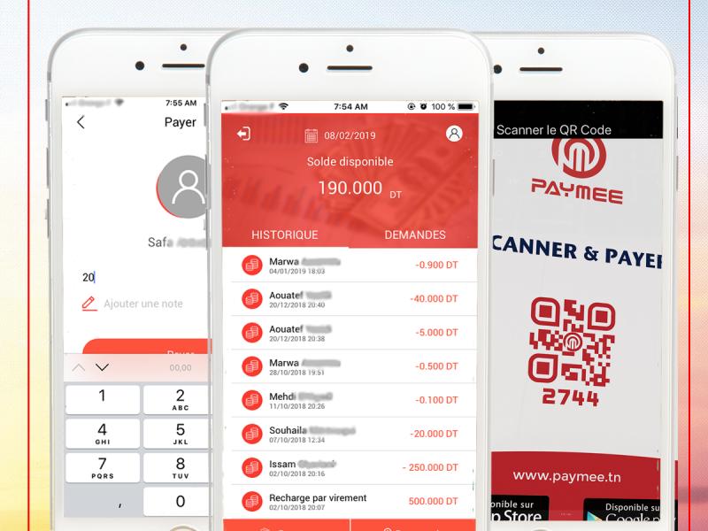 Paymee – Votre porte-monnaie électronique