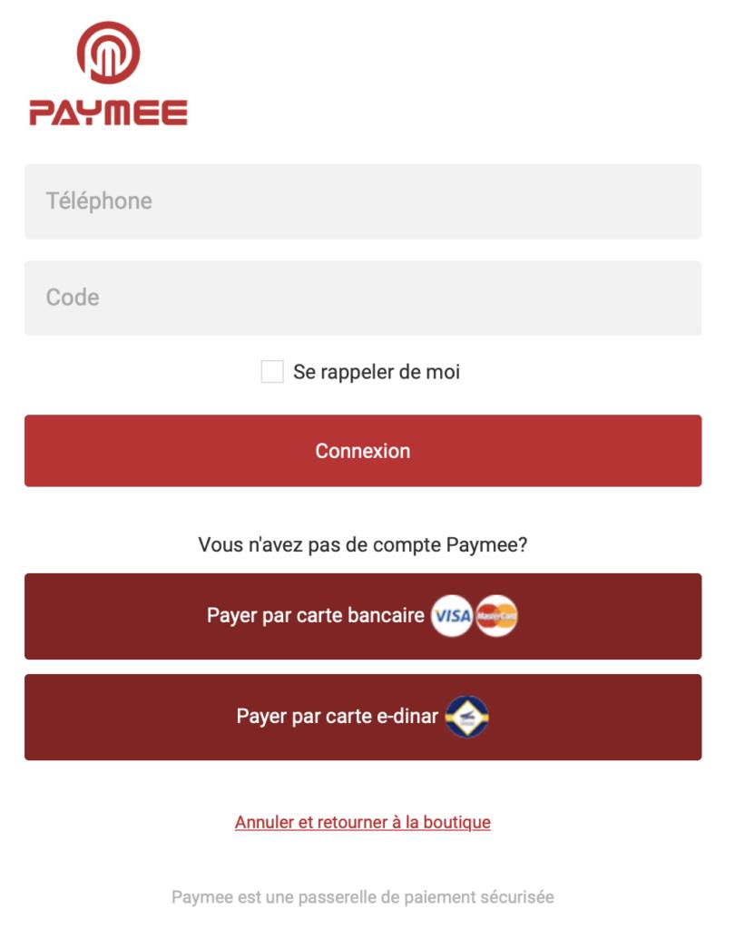 Online payment gateway Tunisia